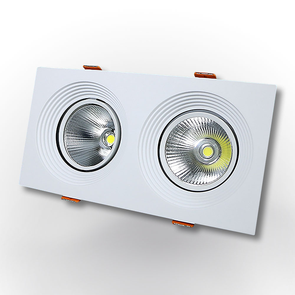 GDL119-2 30W Grille LED Downlight