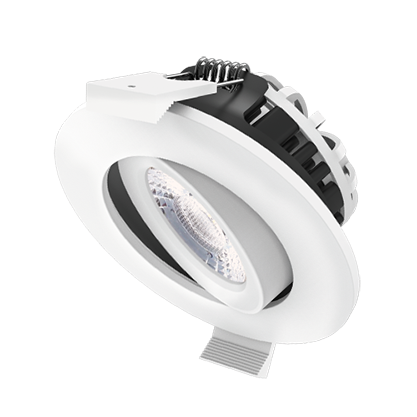 DL98B 8W fire rated downlight