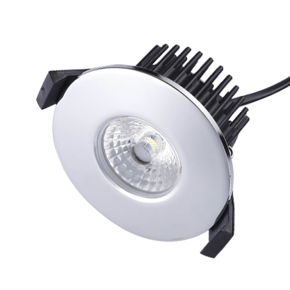 Shallow 50mm DL87 Downlight Fire rated IP65