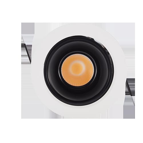 DL120-10Embedded COB concealed spotlight small opening downlight LED downlight