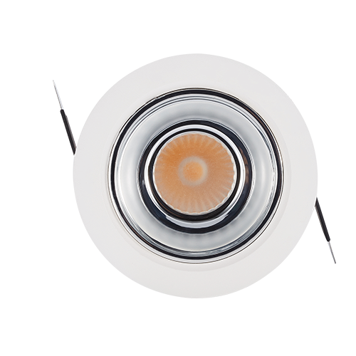 DL120-20Embedded COB concealed spotlight small opening downlight LED downlight