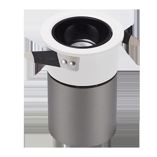 DL120-30 Embedded COB concealed spotlight small opening downlight LED downlight
