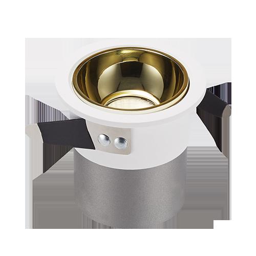 DL120-5 Embedded COB concealed spotlight small opening downlight LED tube light