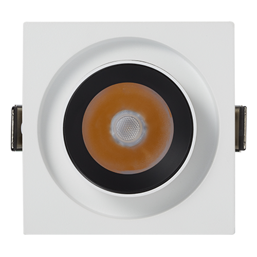 DL114-20S Adjustable angle downlight LED ceiling light opening spotlight embedded commercial lighting downlight