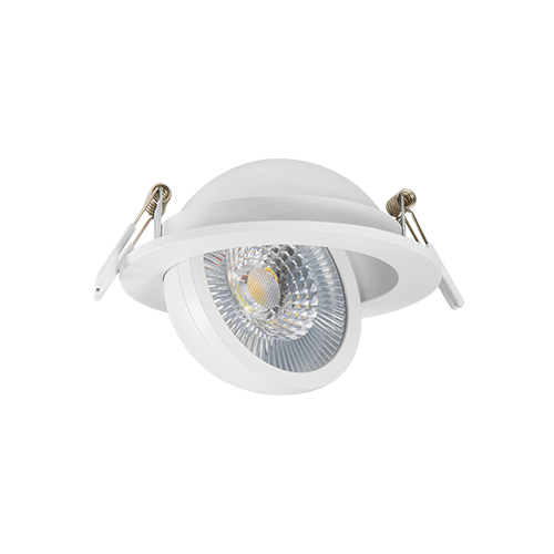 DL127COB -5 Adjustable Fire-Rated Downlight 5W Dimmable 3000/4000/5000K