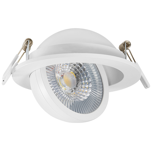DL127COB -10   Dimmable COB LED Downlight Recessed Ceiling Lamp 10W/7W/5W Warm/Cold White LED Spot Light