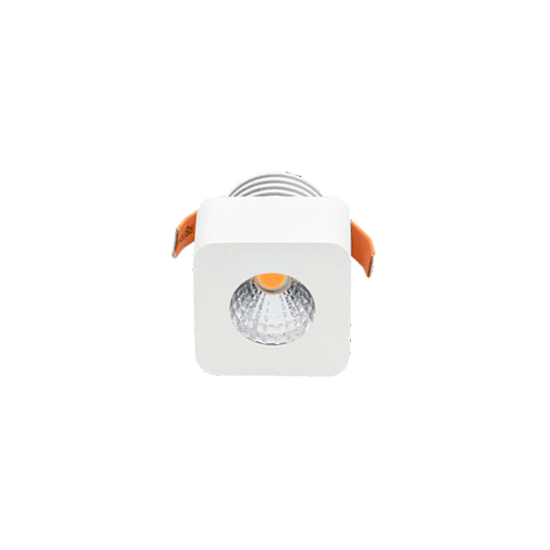 3029B 3W MINI LED Downlight Universal Warm White Round or Square Cool White 6000K Round White