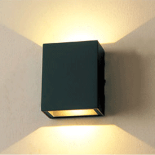 BTF08-2 outer cubic LED wall light