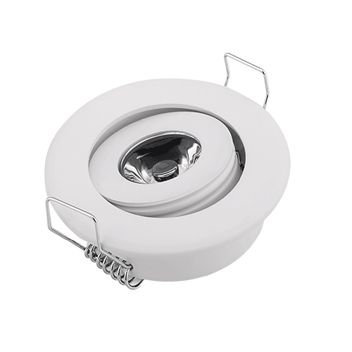 Led Downlight Surface Mounted Recessed 1W 3W Mini LED Ceiling Down Light White Round Spot Lights