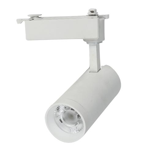 LED Track Lighting Fixture - 15W - 1500 Lumens - Black/white optional