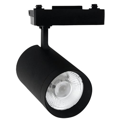 Led anti-glare track spotlight clothing store showroom slide rail light 20w30w40w COB rail spotlight