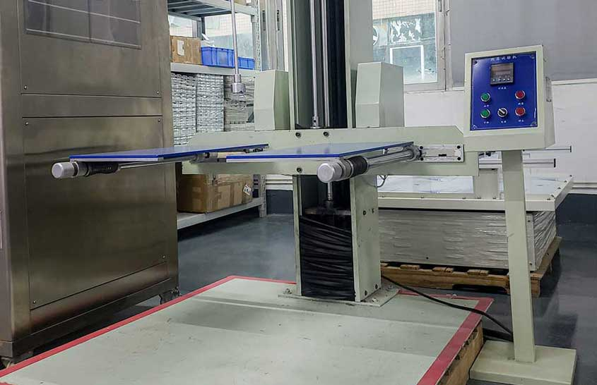 Drop test machine